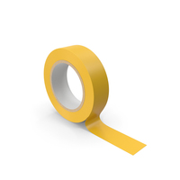 Yellow Masking Tape PNG & PSD Images