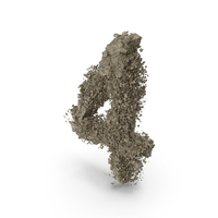 Distruction Stone Number 4 PNG & PSD Images