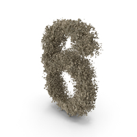 Distruction Stone Number 6 PNG & PSD Images