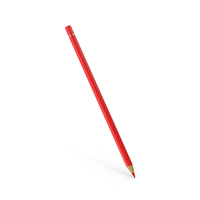 Color Pencil Red PNG & PSD Images