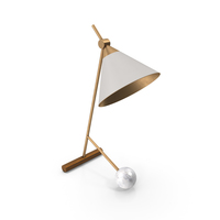 Cleo Table Lamp PNG & PSD Images
