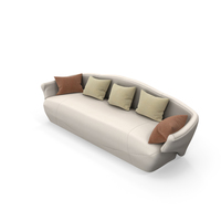 Sofa Giorgetti SOLEMYIDAE PNG & PSD Images