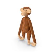 Kay Bojesen Monkey Toy PNG & PSD Images