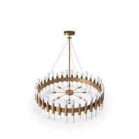 Haskell Large Chandelier PNG & PSD Images