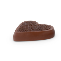 Heart Chocolate Candy with Chocolate Pops PNG & PSD Images