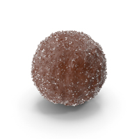 Chocolate Ball with Sugar PNG & PSD Images