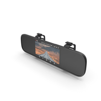 Rearview Mirror Smart Dash Cam PNG & PSD Images