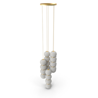 Pearls Chandelier PNG & PSD Images