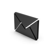 Black Symbol Message PNG & PSD Images