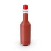 Hot Sauce Bottle without Label PNG & PSD Images