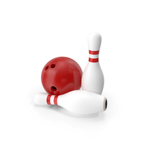 Bowling Pin and Ball PNG & PSD Images