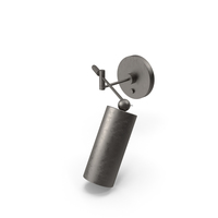Cylinder Swing Arm Sconce By Apparatus PNG & PSD Images