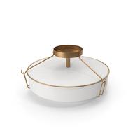 Horan Simple Bowl Semi Flush Mount PNG & PSD Images