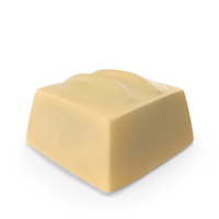 Square White Chocolate Candy PNG & PSD Images