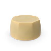 Cylinder Octagon White Chocolate Candy PNG & PSD Images