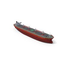 Bulk Carrier Vessel PNG & PSD Images