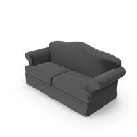 Renoir Gray Sofa by Jamni PNG & PSD Images