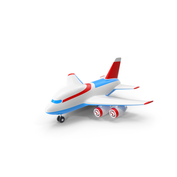 Toy Cartoon Airplane PNG & PSD Images