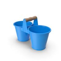 Twin Pot Blue PNG & PSD Images