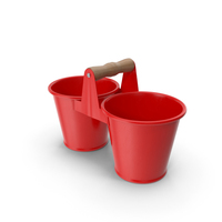 Twin Pot Red PNG & PSD Images