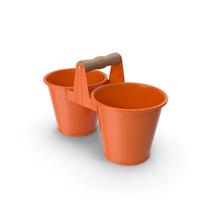 Twin Pot Orange PNG & PSD Images