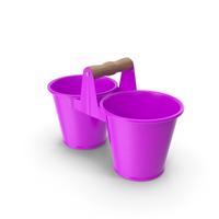 Twin Pot Purple PNG & PSD Images