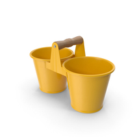 Twin Pot Yellow PNG & PSD Images