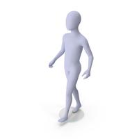 Child Mannequin Walking Pose PNG & PSD Images