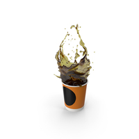 Coffee Splash PNG & PSD Images
