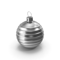 Christmas Tree Toy Silver PNG & PSD Images