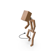 Human Figure Lamp PNG & PSD Images