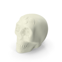 Halloween Skull White PNG & PSD Images