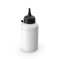 Glue Bottle Black PNG & PSD Images