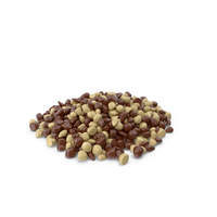 Large Pile of Mixed Almond Chocolate Candy PNG & PSD Images