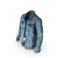 Mens Jean Jacket Blue PNG & PSD Images
