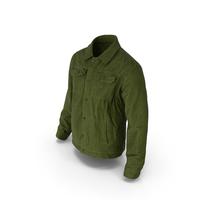 Men's Jacket Green PNG & PSD Images
