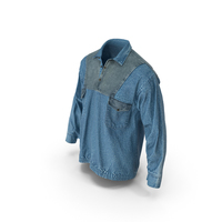 Mens Jean Pullover PNG & PSD Images