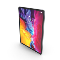 Silver iPad Pro 2020 12.9 inch PNG & PSD Images