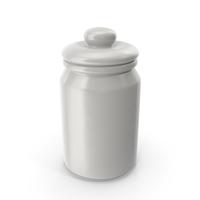 Porcelain Round Jar Closed PNG & PSD Images