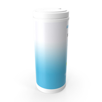Sanitizing Wipes 80 Count Small Canister PNG & PSD Images