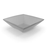 Plastic Square Bowl PNG & PSD Images