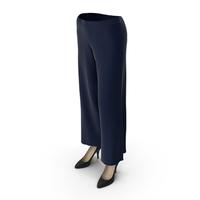 Womens Pants Shoes Blue PNG & PSD Images