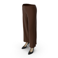 Womens Pants Shoes Brown PNG & PSD Images
