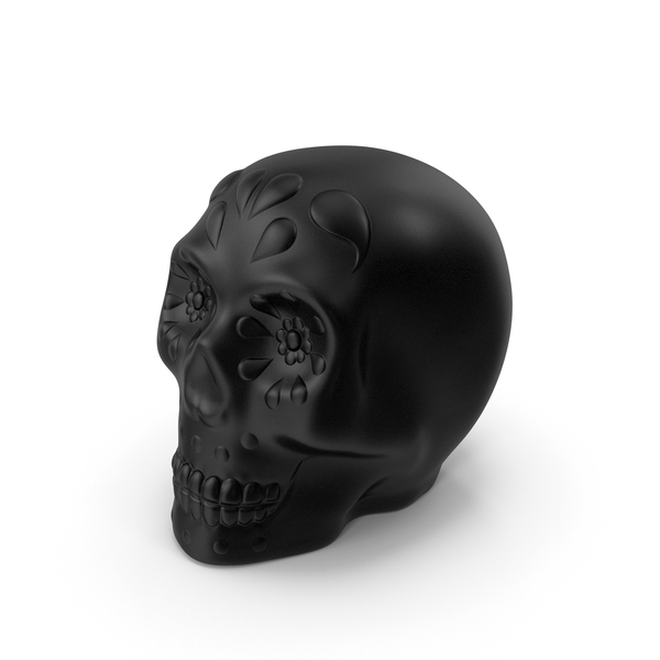 Halloween Skull Black PNG & PSD Images