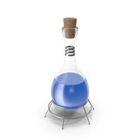 Alchemical Flask Blue PNG & PSD Images