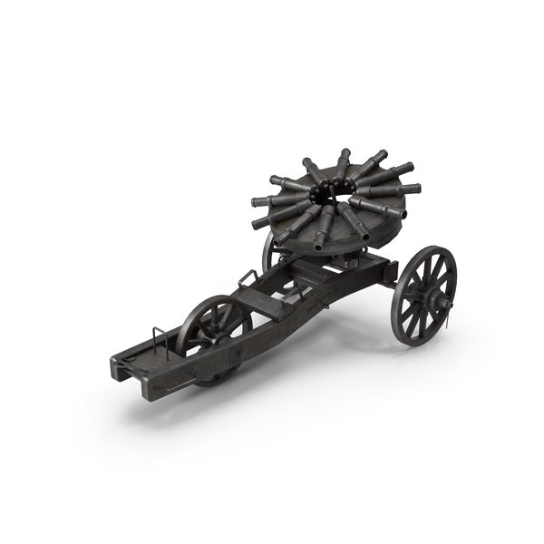 Medieval Cannons PNG & PSD Images