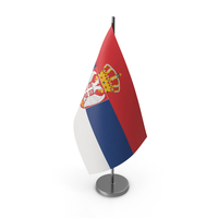 Table Flag Serbia PNG & PSD Images