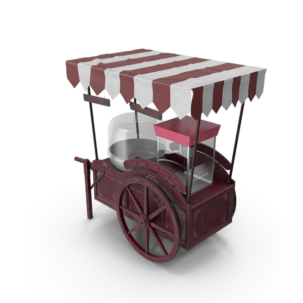 Popcorn Cart PNG & PSD Images