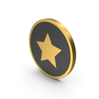 Gold Icon Star PNG & PSD Images