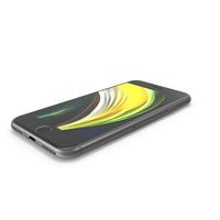 Apple iPhone SE Black 2020 PNG & PSD Images